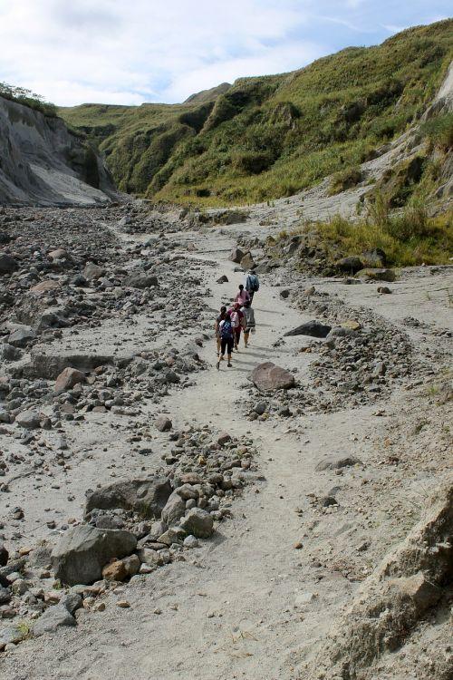 trekking mountains mountain hiking