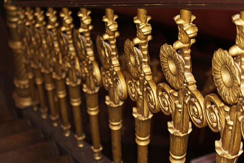 treppengeländer  handrail  antique handrail
