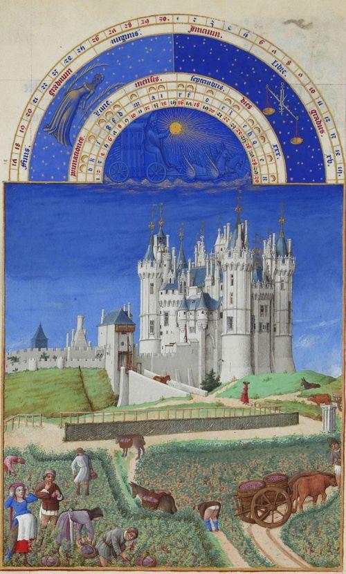 très riches heures du duc de berry barthélemy van eyck jean colombe