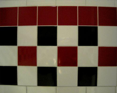 Tri-color Checkered