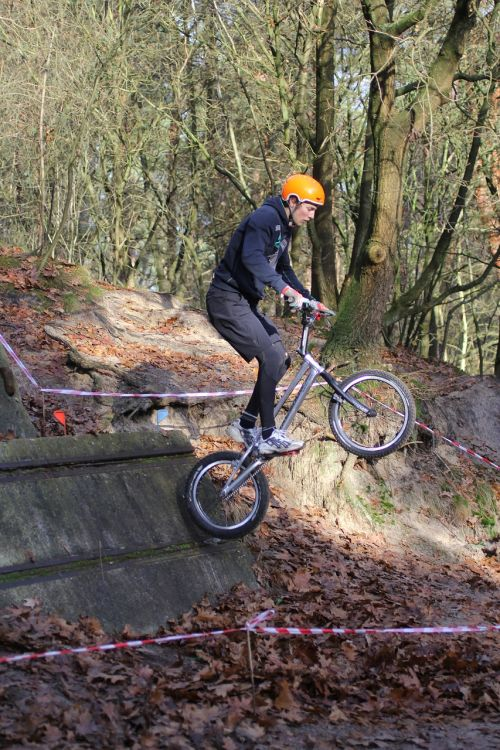 trial bicycle contest