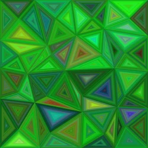 triangle background polygon