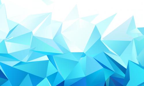 triangle geometric origami