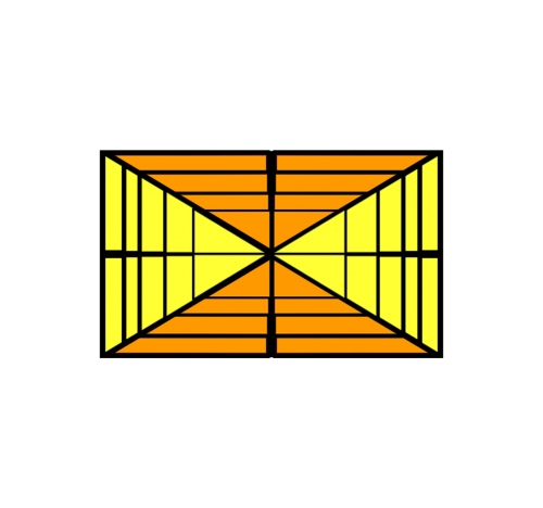 triangles rectangle design