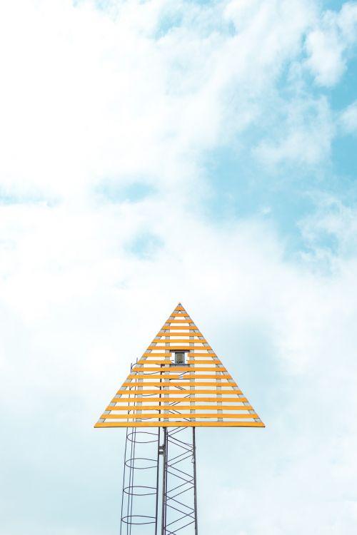 triangular tower camera