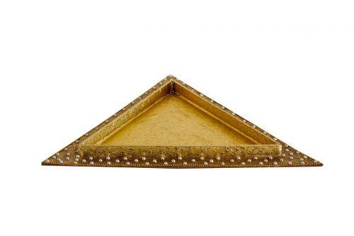 triangular tray decorative
