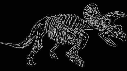 triceratops dinosaur fossil