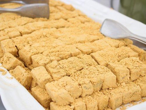 trick or treat  injeolmi  korean food