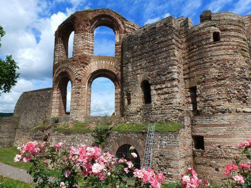 trier emperor's spa ruin