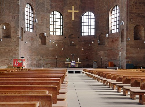 trier  basilica  antique