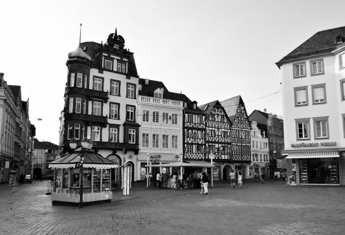 trier old town marketplace