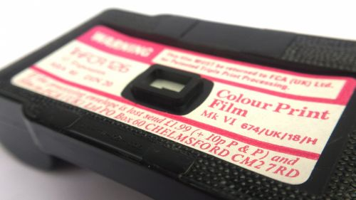 TriFCA 126 Film Cartridge 12 Exp