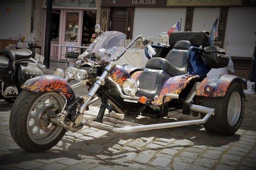trike  motorcycle  vehicle