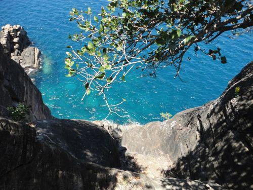 Trincomalee,kranto,jūra,koneshwaran,skaidrus vanduo,Šri Lanka,mėlynas vanduo,gilus vanduo,uolos
