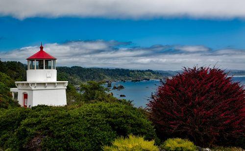 trinidad memorial lighthouse light california