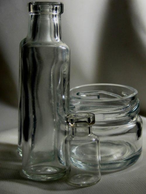 Trio In Clear Glass