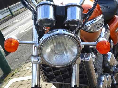 Triumph Motorcycle Headlamps