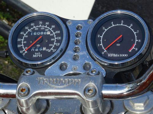 Triumph Motorcycle Speedometers