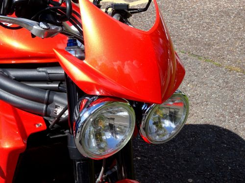 Triumph Motorcycle Windshield