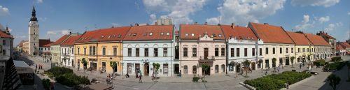trnava city main street