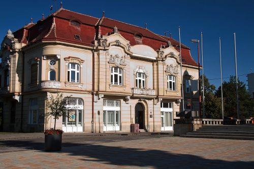 trnava slovakia george fándly library