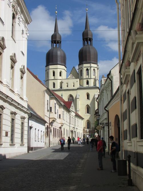 trnava center slovakia