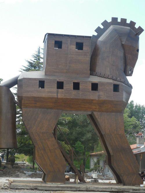 trojan horse trojan troy
