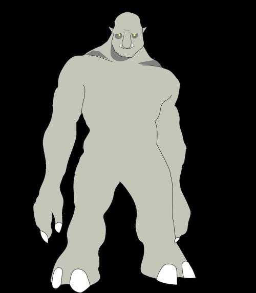 troll monster horror