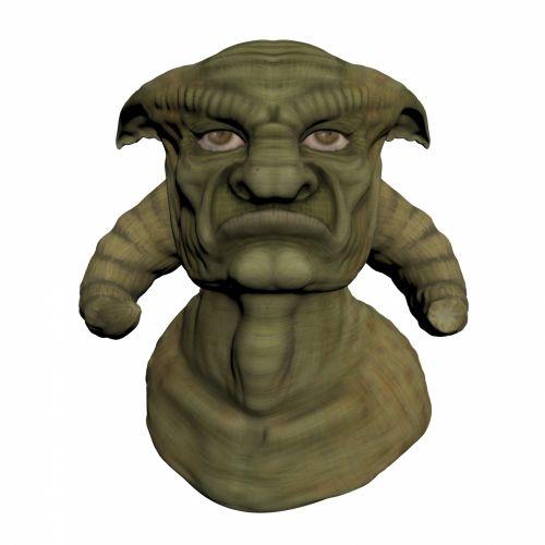 Troll Head 2