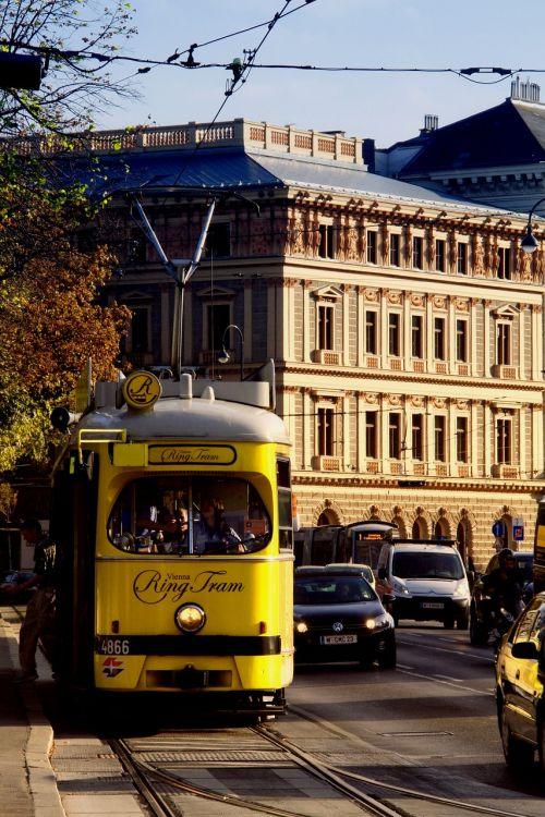 trolley viena transport