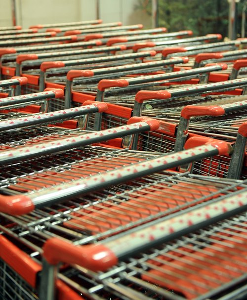 trolley  market  shop