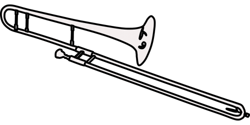 trombone brass musical instrument