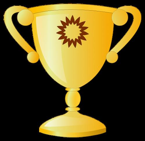 trophy win prize