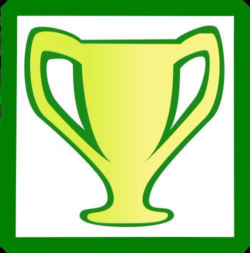 trophy cup reward