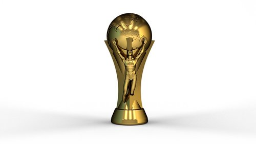 trophy  football  cup