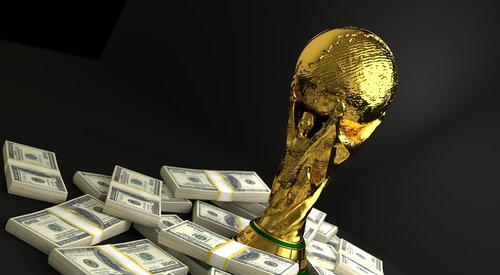 trophy  world  cup