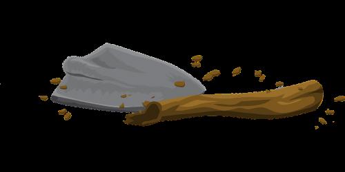 trowel tool digging