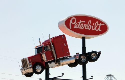truck peterbilt trucking