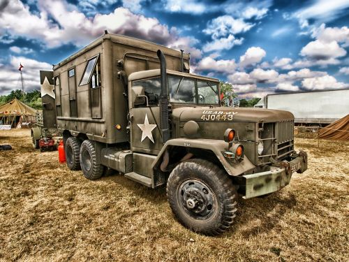 truck army vehicle
