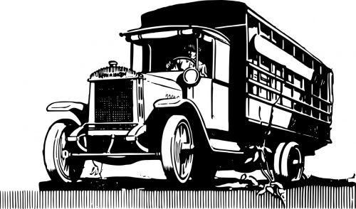 truck vintage automobile