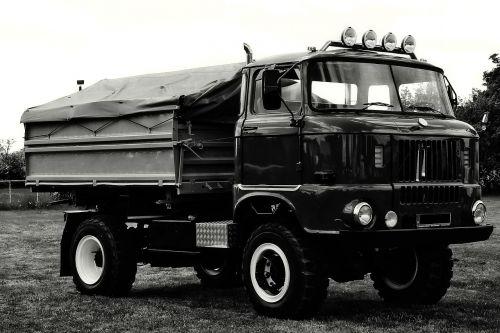 truck historically ddr