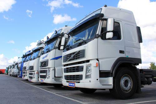 truck white vehicle
