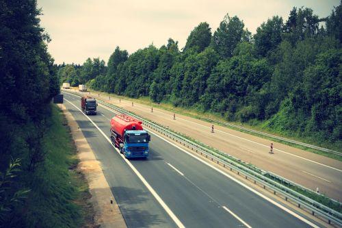 truck highway logistics