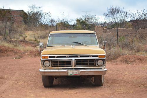 truck vintage transport