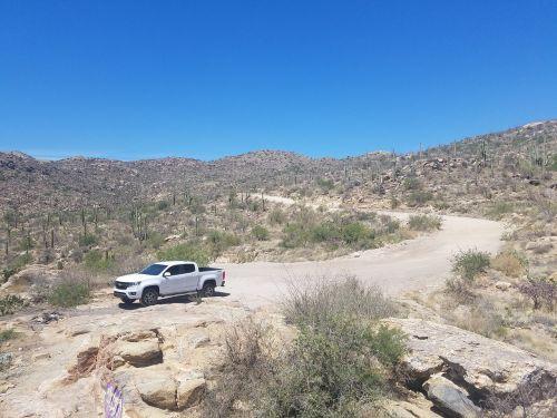 truck mountain offroad