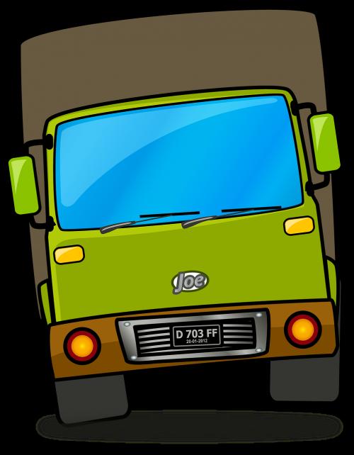 truck vehicle cartoon