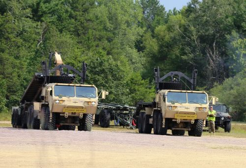 truck convoy armored