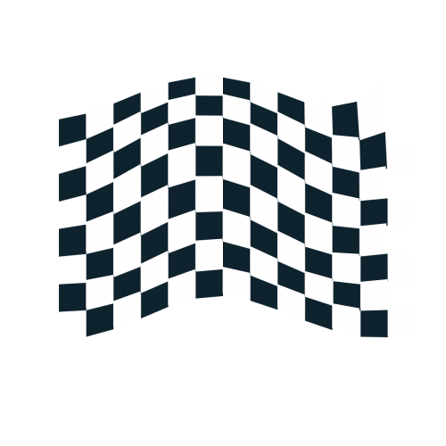 truck flag road