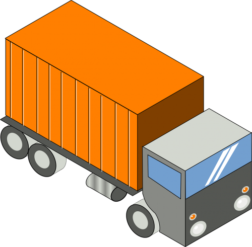 truck lorry transportation