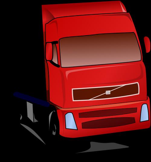 truck semi freight